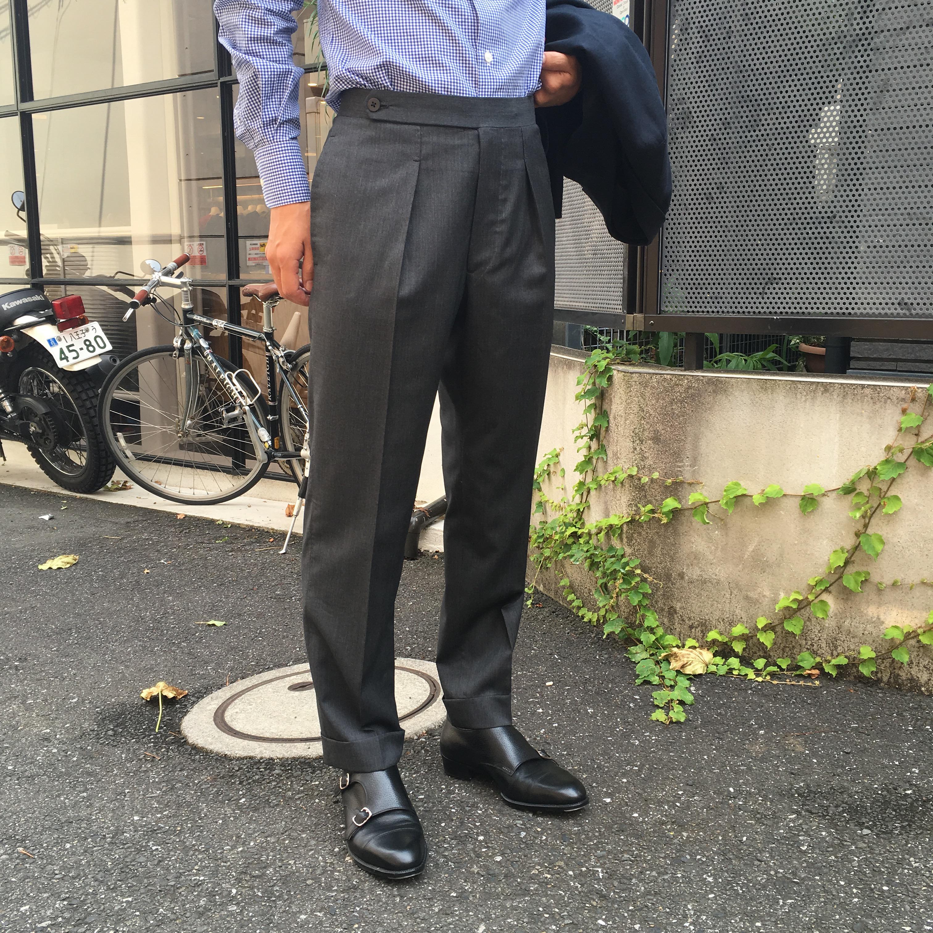 五十嵐trousers